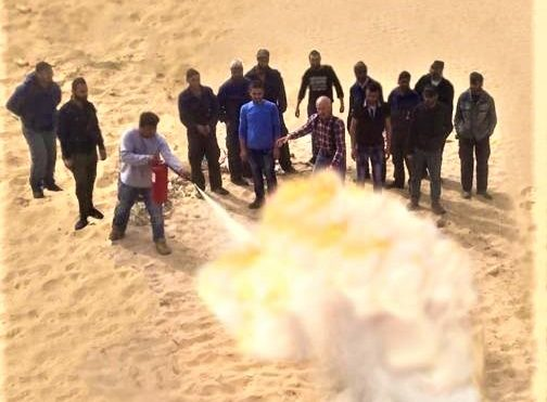 S.E.M.T conducts its annual Fire Fighting Training